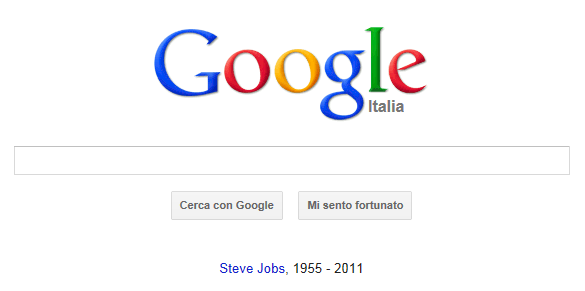 Google ricorda Steve Jobs