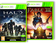 Microsoft regala Halo Reach o Fable III